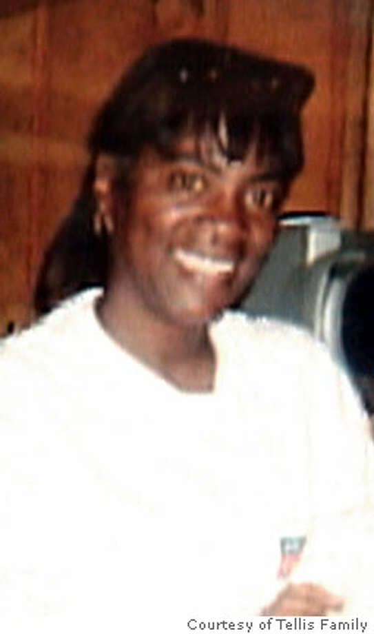Family photo of Sandra Tellis who was found hogtied and burning Friday near her North Oakland home.  Photo courtesy Tellis Family.  Ran on: 09-07-2006  Sandra Tellis is in critical condition after suffering burns over 70 percent of her body. Photo: N