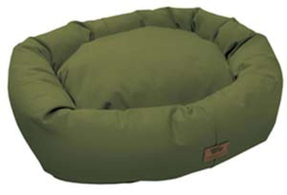 The Organic Bumper Bed from West Paw Design (http://www.westpawdesign.com/).