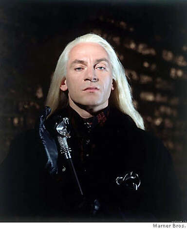 "Jason Isaacs as Malfoy in ""Harry Potter and the Chamber of Secrets"" Photo: Warner Bros."