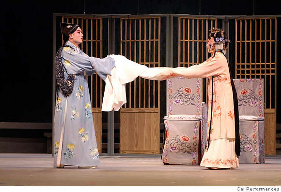 "Tang Xianzu's 1598 Kun opera ""The Peony Pavilion"" is a passionate paean to romantic love. Photo courtesy of Cal Performances"