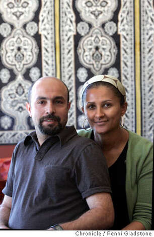 reviews03_fars  In their cafe, Samy & Genet Fars the owners of Cafe Grillades, a creperie/restaurant in Hayes Valley. Event on 8/30/06 in San Francisco.  Penni Gladstone / The Chronicle  ***cq themselves  Ran on: 09-03-2006  Georgia Kalnin instructs Jenni Loffer at her studio that has attracted customers like Loffer and Karen Merigo (left) through CitySearch.  Ran on: 09-02-2006 Photo: Penni Gladstone