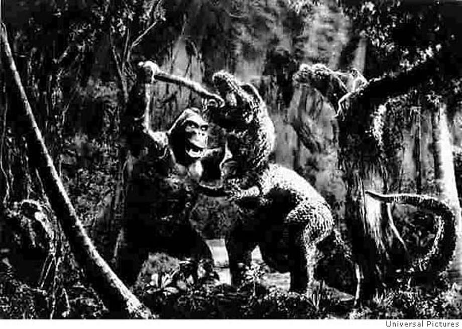 """King Kong vs. Godzilla"": a first for a little critic. Photo courtesy of Universal Pictures"