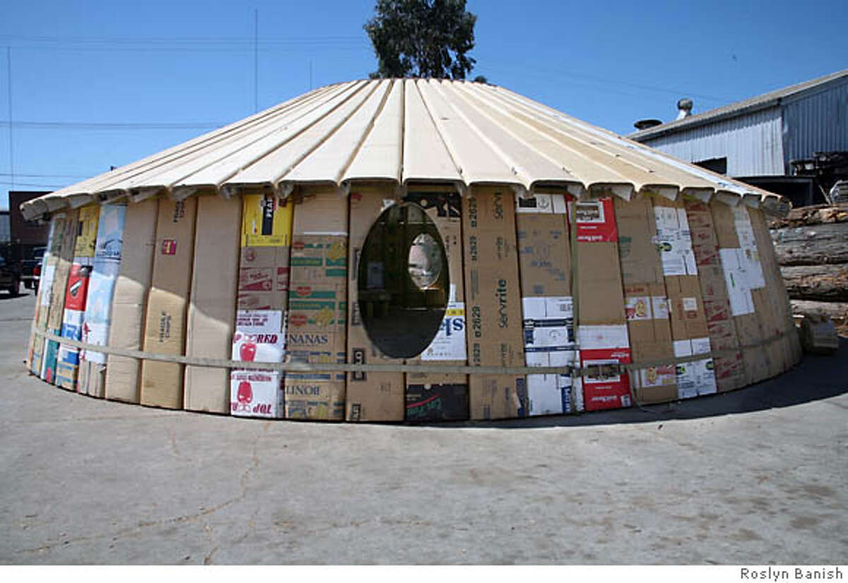 The creators of the portable zendo hope it will be a feature at Burning Man for years to come. Photo by Roslyn Banish