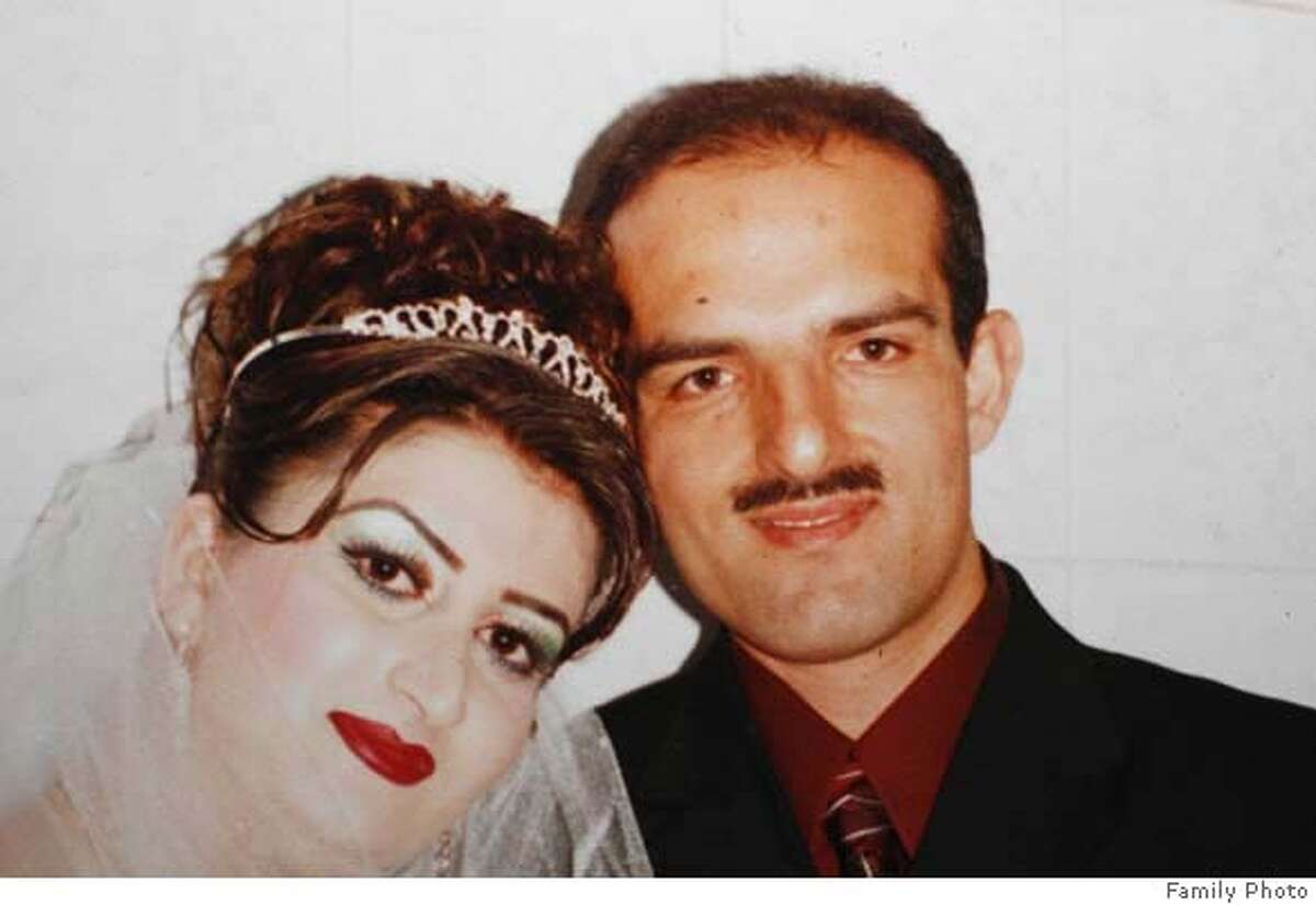 hitandrun_276_mac.jpg hitandrun_266_mac.jpg Wedding photo believed to be about two weeks old, showing Omeed Aziz Popal with his new bride Nahid, taken in Afghanistan. Hit and run victims in the Fremont area as well as San Francisco, 13 victims in all, one confirmed fatality in Fremont. Suspect Omeed Aziz Popal of Fremont Event in, Fremont, Ca, on 8/29/06. FAMILY HANDOUT Mandatory credit for Photographer and San Francisco Chronicle / Magazines Out