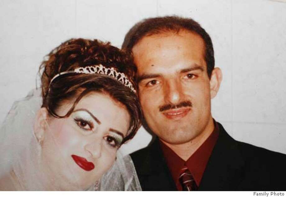 hitandrun_276_mac.jpg hitandrun_266_mac.jpg Wedding photo believed to be about two weeks old, showing Omeed Aziz Popal with his new bride Nahid, taken in Afghanistan. Hit and run victims in the Fremont area as well as San Francisco, 13 victims in all, one confirmed fatality in Fremont. Suspect Omeed Aziz Popal of Fremont Event in, Fremont, Ca, on 8/29/06. FAMILY HANDOUT Mandatory credit for Photographer and San Francisco Chronicle / Magazines Out Photo: Michael Macor