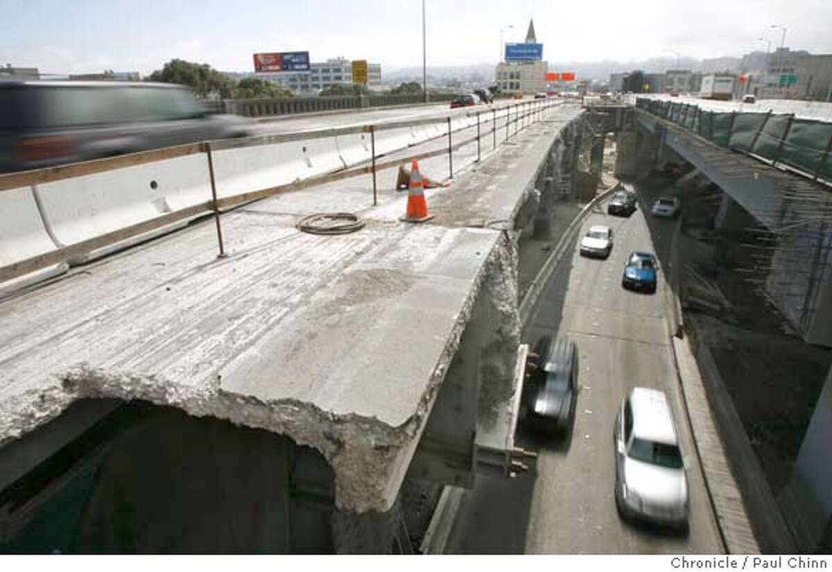 During the Labor Day weekend in 2007, Caltrans closed the eastbound lanes approaching the Bay Bridge in order to demolish a 1,000 foot section of the upper deck. BART ran trains for 24 hours from the start of the bridge closure, with a noted uptick in ridership for the public transportation system and more vehicles crossing the Golden Gate Bridge, as well.