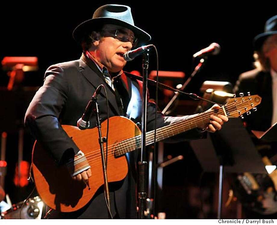 van06_0193_db.JPG  Van Morrison performs at the Masonic Auditorium.  Event on 3/3/06 in San Francisco.  Darryl Bush / The Chronicle MANDATORY CREDIT FOR PHOTOG AND SF CHRONICLE/ -MAGS OUT Photo: Darryl Bush