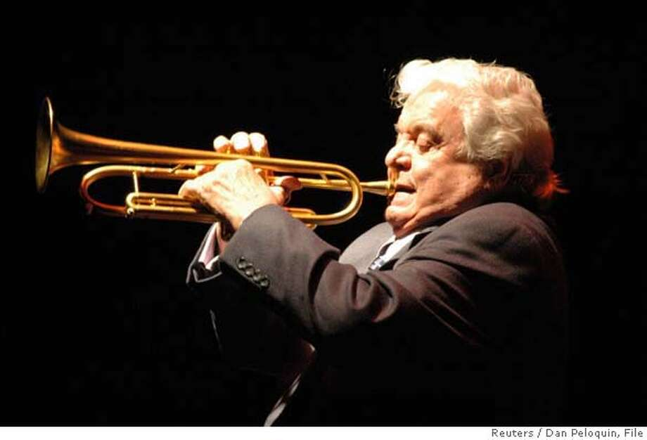 Jazz trumpeter Maynard Ferguson, seen performing in Woonsocket, Rhode Island in this March 18 2006 handout photograph, has died at age 78 on Wednesday at a hospital in Ventura, California according to his associates August 24, 2006. NO ARCHIVES REUTERS/Dan Peloquin/Courtesty Maynard Ferguson Music, U.S.A., Inc./Handout (UNITED STATES) 0 Photo: HO