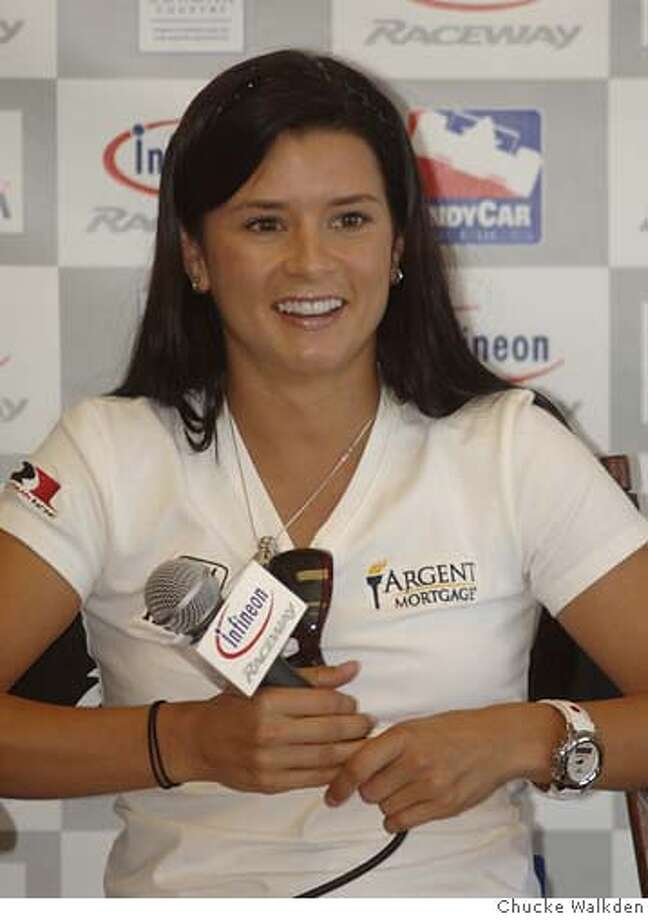 Photo of Danica Patrick from today at Infineon Raceway. Photo by Chucke Walkden Photo: Chucke Walkden