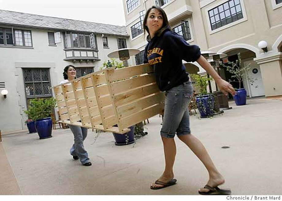 City leaders are proposing new rules for dorms and fraternity  and sorority houses. Photo: Brant Ward