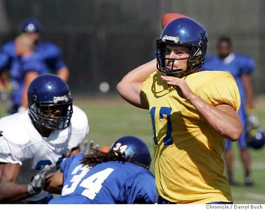 San Jose State football practice at Spartan Stadium.  Event on 8/11/05 in San Jose.  Darryl Bush / The Chronicle Photo: Darryl Bush