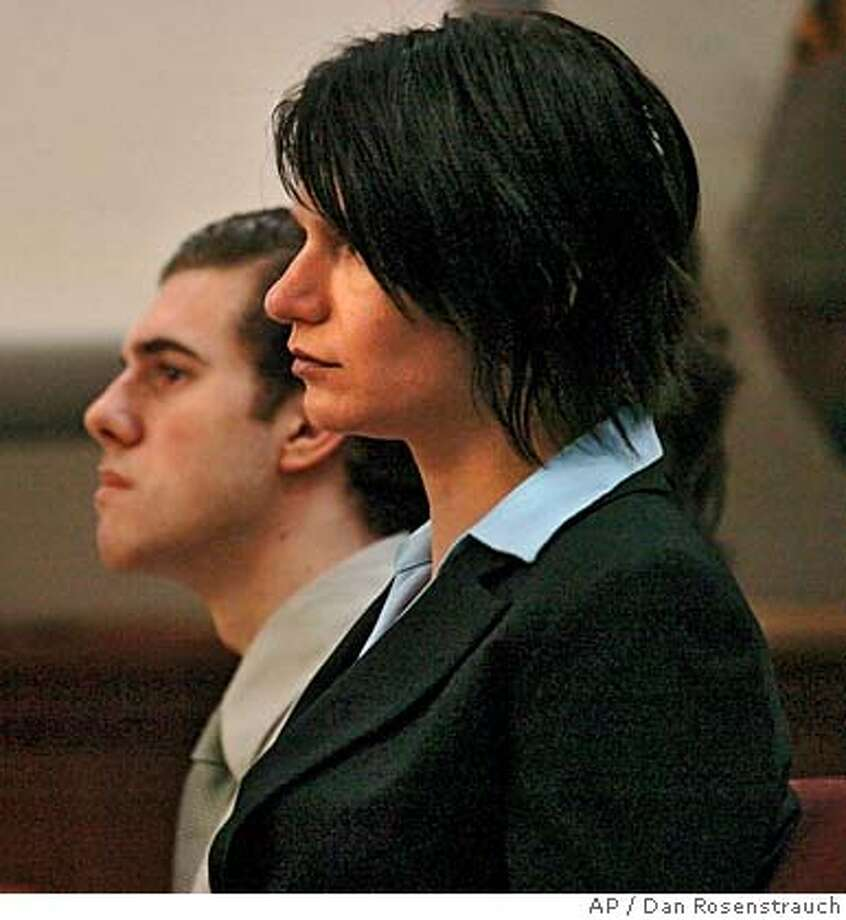 Scott Dyleski, 17, left, sits with his attorney Ellen Leonida during closing arguments for his murder trial Tuesday, Aug. 22, 2006, inside the Bray Courthouse in Martinez Calif. Dyleski is accused in the Oct. 15, 2005, beating death of Pamela Vitale, 52, wife of prominent defense attorney Daniel Horowitz. (AP Photo/Dan Rosenstrauch, Pool) POOL PHOTO Photo: DAN ROSENSTRAUCH