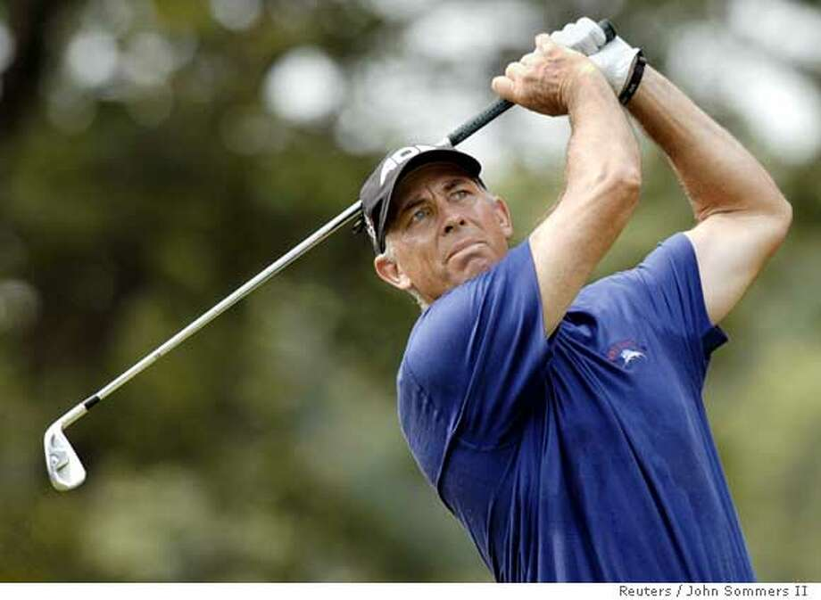 Tom Lehman of the U.S. tees off the 17th hole in the second round of the 88th PGA Championship golf tournament in Medinah, Illinois August 18, 2006. REUTERS/John Sommers II (UNITED STATES)  Ran on: 08-21-2006  Tom Lehman will make his two captain's picks to complete the USA's 12-man Ryder Cup team today. Photo: JOHN SOMMERS II