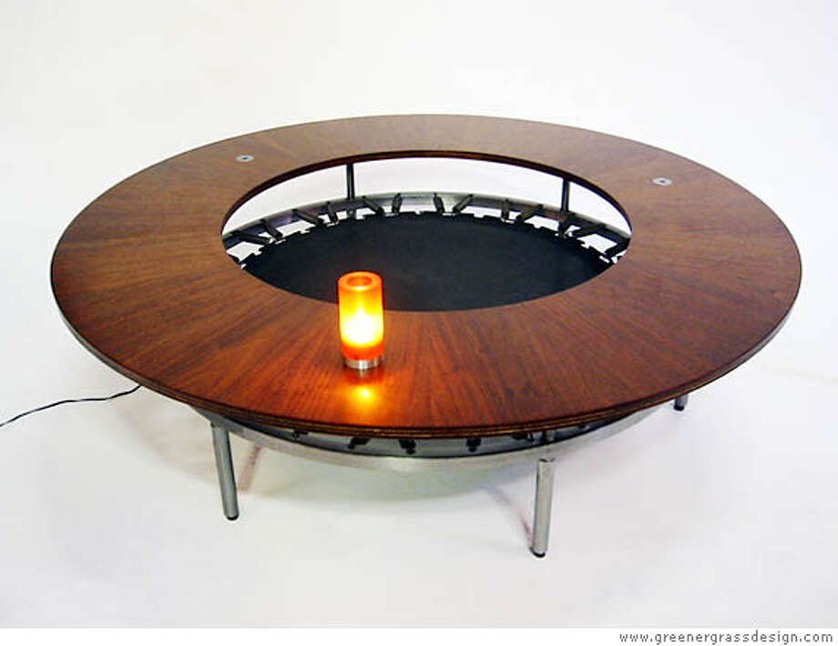 Trampoline Table by Alberto Bonomi is listed at $4,500. Photo: X