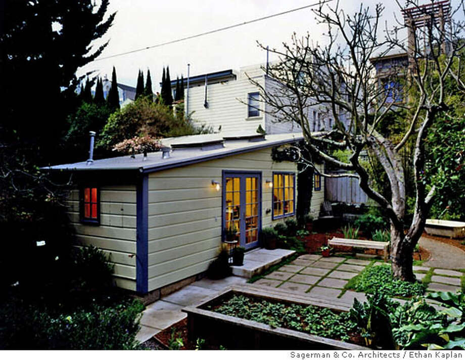 Photos and Architecutal renderings of a converted shed in San Francisco's Mission District.  Credit: Courtesy: Evan Sagerman, Sagerman & Co. Architects Photo: X