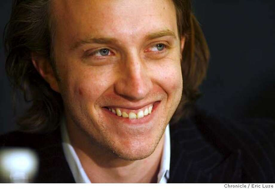 youtube_041_el.jpg  YouTube CEO Chad Hurley will speak at this week's Digital Hollywood conference. Eric Luse/The Chronicle Names (cq) from source MANDATORY CREDIT FOR PHOTOG / Photo: Eric Luse