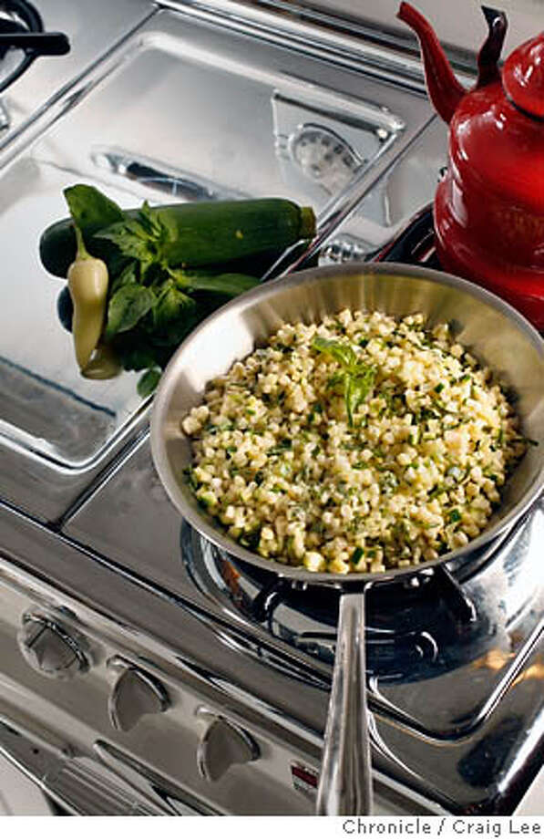 STOVETOP09_300_cl.JPG  Story of summer cooking on the stove top. Food styled by Amanda Gold.  Photo by Craig Lee / The Chronicle Photo: Craig Lee