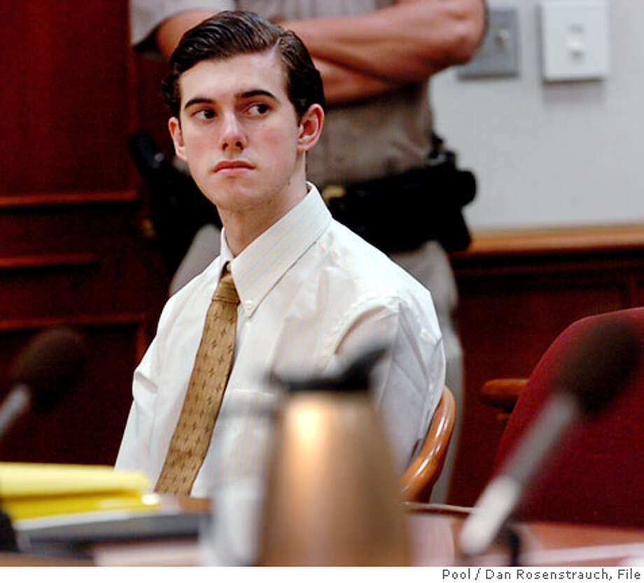 Defendant Scott Dyleski sits in Contra Costa Superior Court during a preliminary hearing in advance of his upcoming murder trial, Thursday, July 20, 2006, in Martinez, Calif. Dyleski is accused of killing the wife of television legal analyst Daniel Horowitz. (AP Photo/Dan Rosenstrauch, Pool) Photo: DAN ROSENSTRAUCH