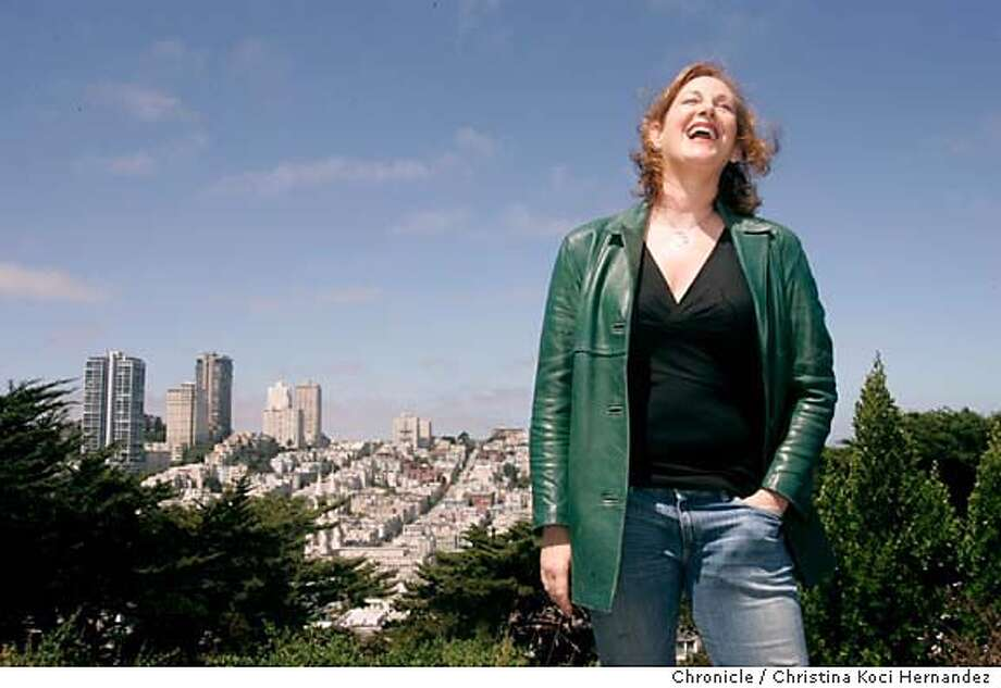 Photographed at Coit Tower, Shanda Sawyer (cq), new director for Ringling circus, returns to her home town, San Francisco.  She has directed everything from the Academy Awards to documentaries and tv commercials, but never a circus, so this was a real departure for her. Ringling reformatted the 136th edition circus this year in its biggest - and most controversial - change in 50 years, turning it into a one-ring extravaganza. (CHRISTINA KOCI HERNANDEZ/THE CHRONICLE)  *Shanda Sawyer Mandatory Credit For Photographer and San Francisco Chronicle/No-Sales-Mags Out Photo: Christina Koci Hernandez