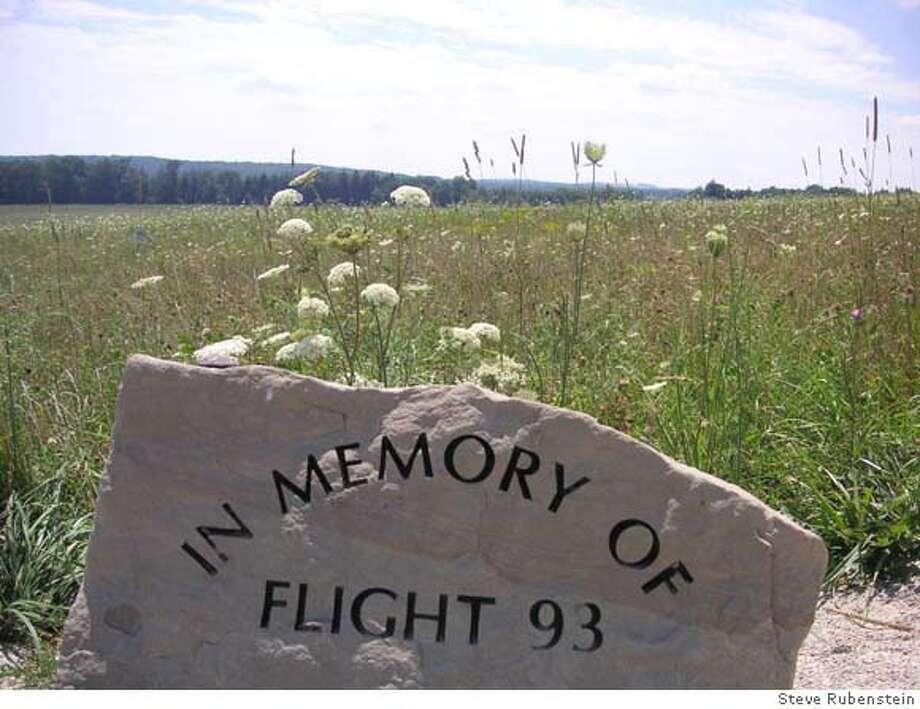 Flight 93 memorial site near Shanksville PA. Photo by Steve Rubenstein Photo: Steve Rubenstein