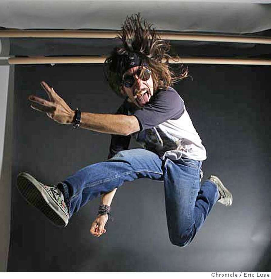 """airguitarxx_177_el.jpg Craig Billmeier, stage name """"Hot Lixx Hulahan"""" is the reigning United States Air Guitar Champion. Next month he is off to the second international Air Guitar Championship in Finland. Eric Luse/The Chronicle Names (cq) from source MANDATORY CREDIT FOR PHOTOG / Photo: Eric Luse"""