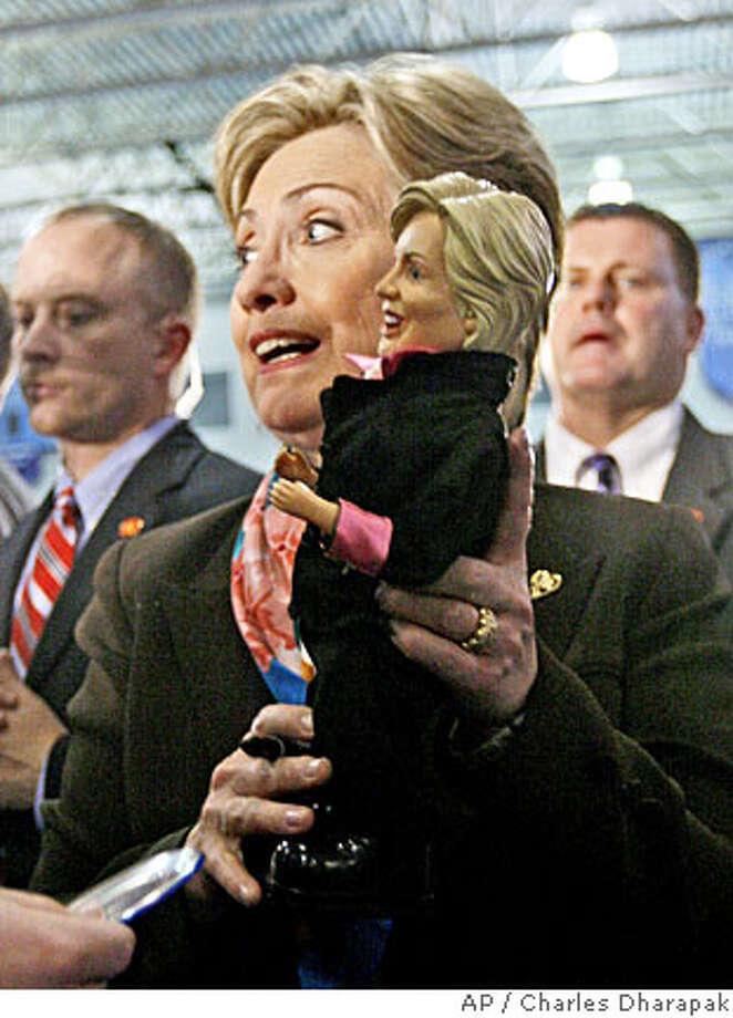 Hillary Rodham Clinton Photo: Charles Dharapak