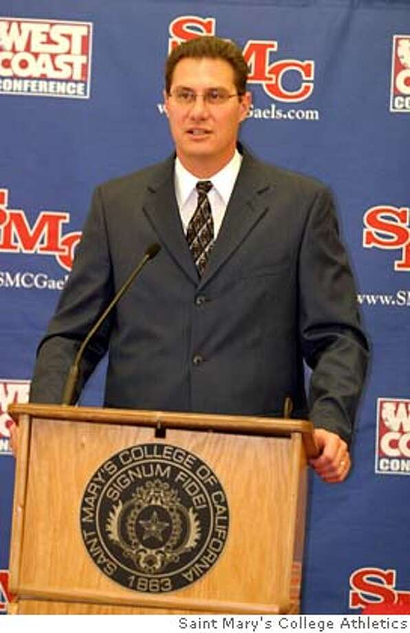 THOMAS_002.JPG  Photos of Saint Mary's women's basketball head coach Paul Thomas for the story written by Maggie Thach. Photo courtesy Saint Mary's College Athletics. Photo: Coutesy Photo