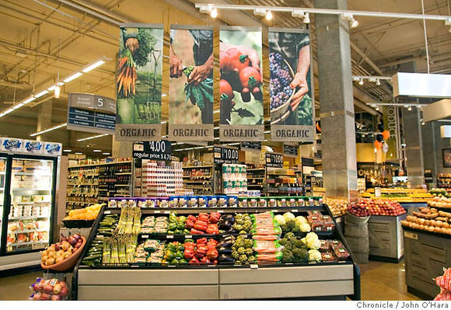 Industrial organic foods are part of the current U.S. food system, which has helped most citizens to be well-fed but few to be fed well. Chronicle photo by John O'Hara