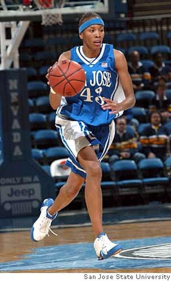 Former San Jose State basketball player Lamisha Augustine. Photo: Courtesy of San Jose State University Photo: Courtesy Of San Jose State Unive