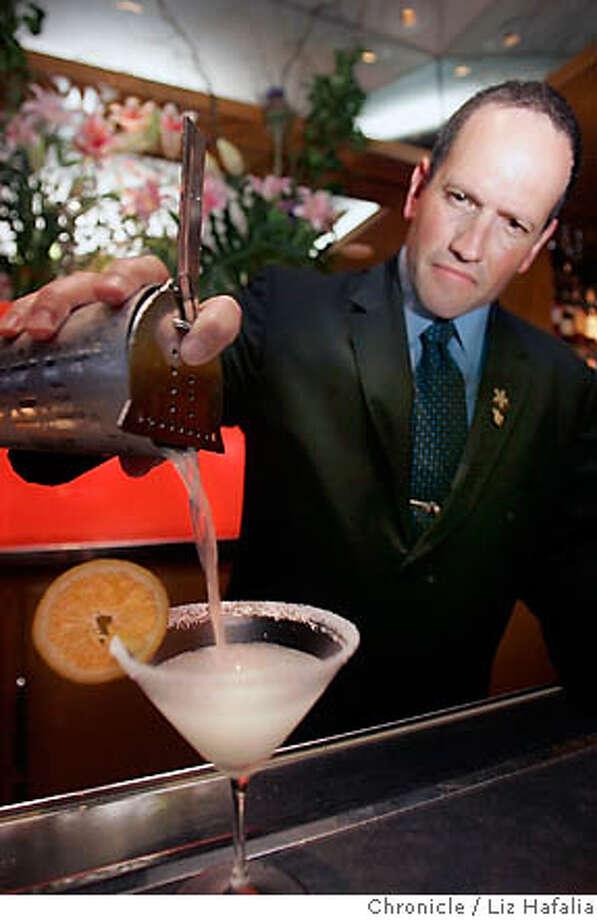 SPIRITS03_025.JPG Bartender David Touye of restaurant Gary Danko mixing up an Under the Mexican sun cocktail. Liz Hafalia/The Chronicle. MANDATORY CREDIT FOR PHOTOGRAPHER AND SAN FRANCISCO CHRONICLE/ -MAGS OUT Photo: Liz Hafalia