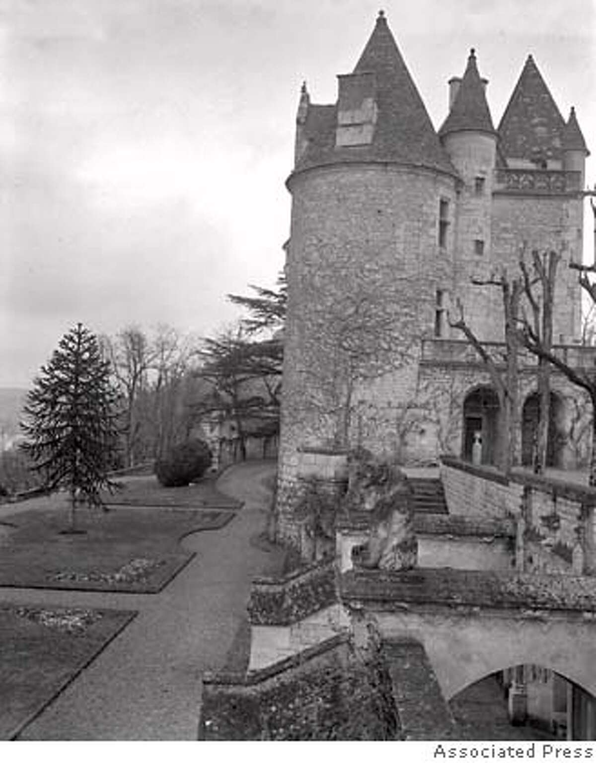 TRAVEL FRANCE - The home of Josephine Baker, Chateau des Milandes in southern France, is seen in 1956. (AP Photo)
