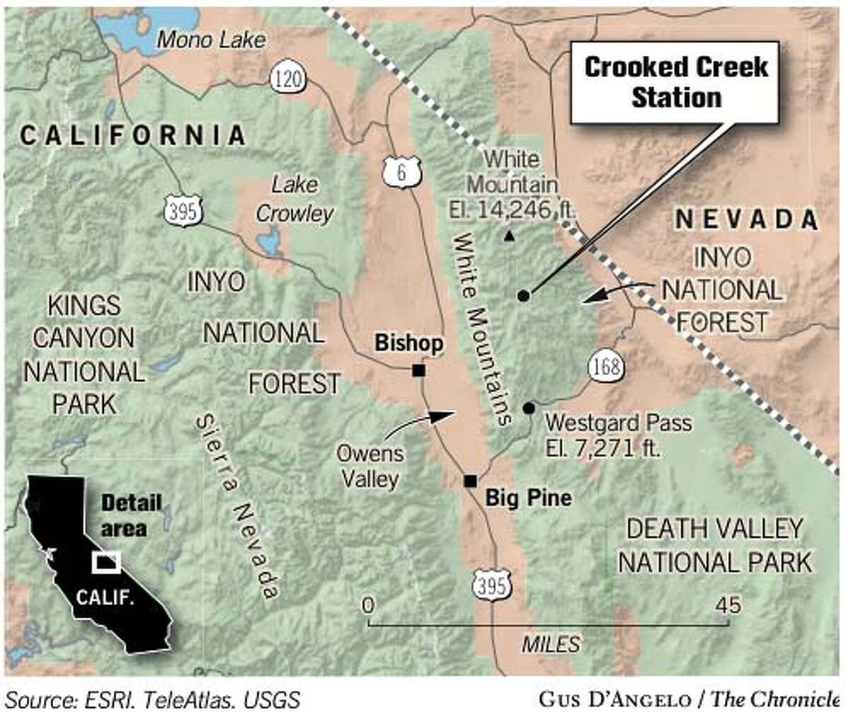 Crooked Creek Station. Chronicle graphic by Gus D'Angelo