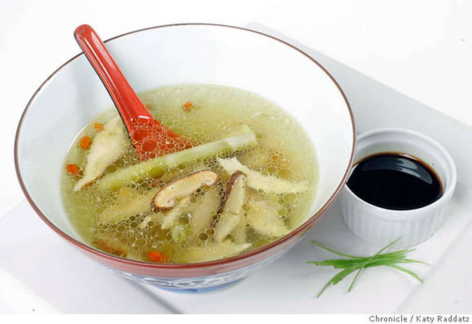 CHINA02_RP_017_RAD.jpg  Hangzhou Chicken Soup. These photos shot in San Francisco, CA. on Thursday, July 27, 2006.  Photo taken on 7/27/06, in San Francisco, CA.  (Katy Raddatz/The S.F.Chronicle)  **Hangzhou Mandatory credit for photographer and the San Francisco Chronicle/ -Mags out Photo: Katy Raddatz