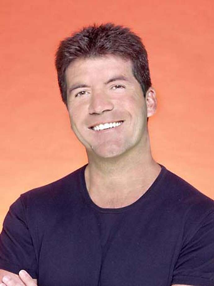 "Tongue in cheek: Simon Cowell plays bad judge on ""American Idol."" Photo courtesy of Fox"