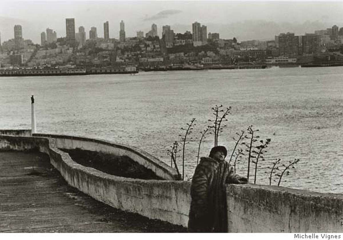 Alcatraz during the Indian occupation, 1969. Photo by Michelle Vignes