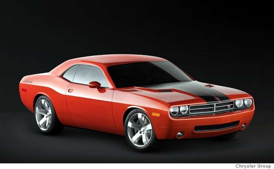 Dodge Reviving Challenger Muscle Car For 08 Concept Model From