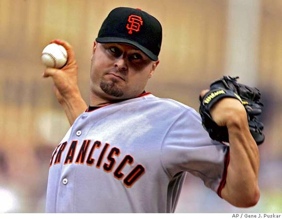 8. 2001 Giants: Jason Schmidt
