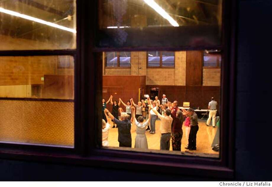 FOLK_083.JPG Berkeley Folk Dancers, a club that started in 1941, at the recreation room of Live Oak Park. Liz Hafalia/The Chronicle MANDATORY CREDIT FOR PHOTOGRAPHER AND SAN FRANCISCO CHRONICLE/ -MAGS OUT Photo: Liz Hafalia