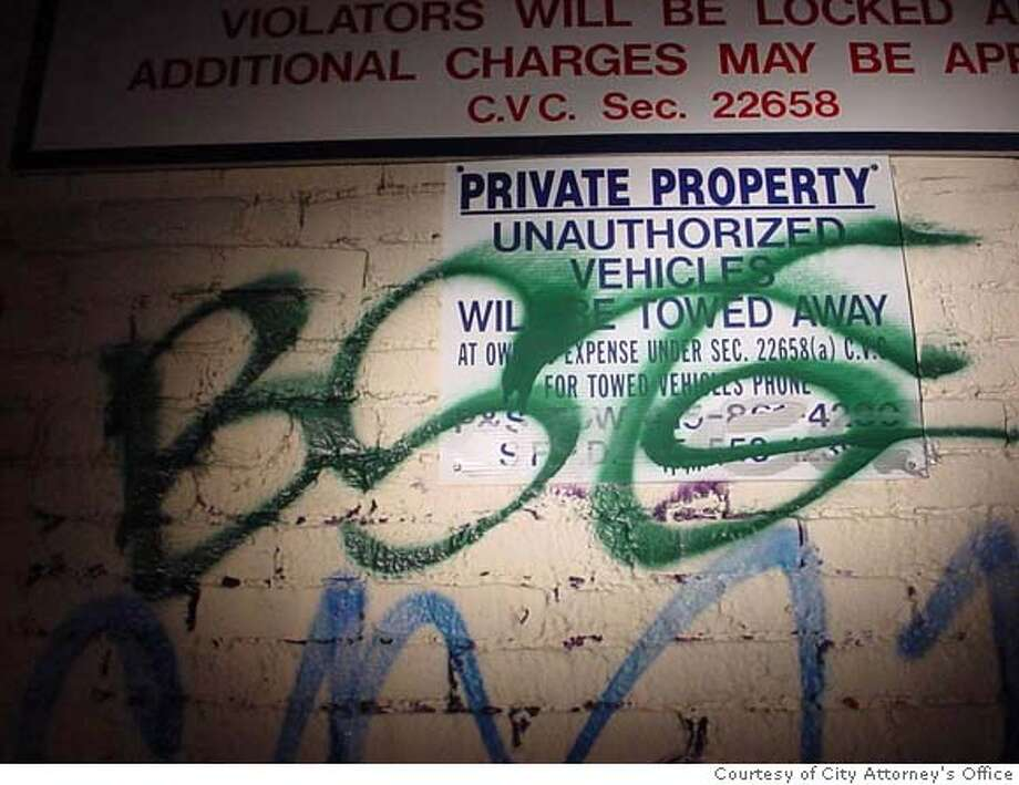 Writings On The Wall For Graffiti Guerrilla Notorious S F Tagger Hit With  Fine