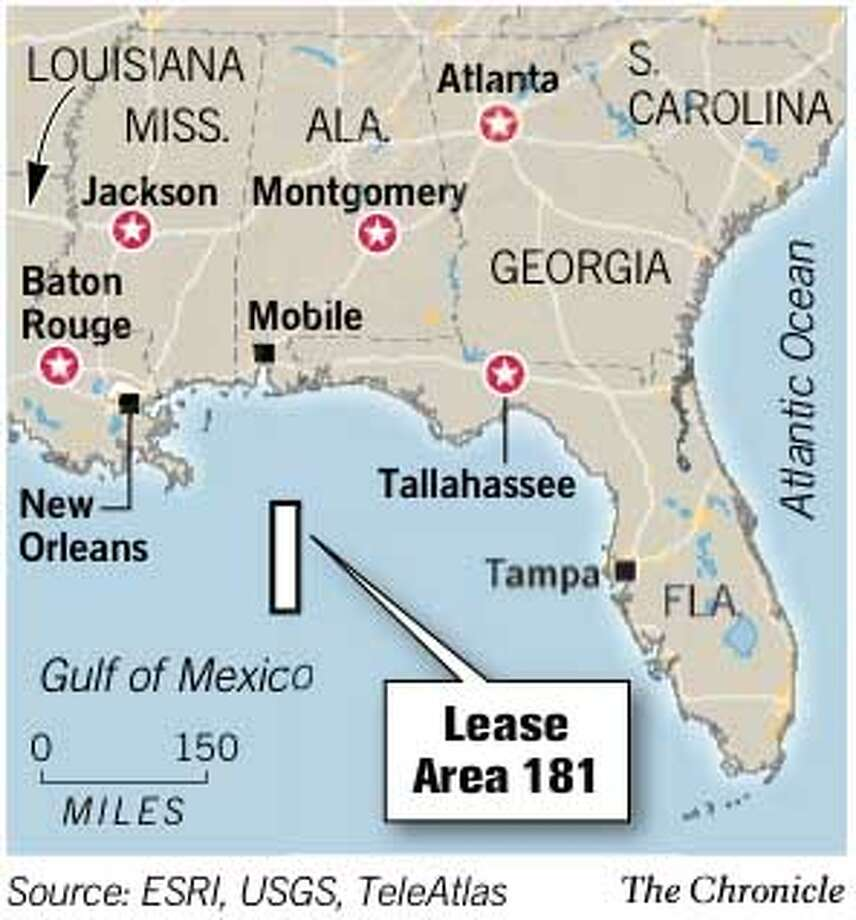 Lease Area 181. Chronicle Graphic