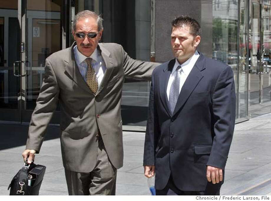 Greg Anderson, Mark Geragos Photo: FREDRIC LARSON