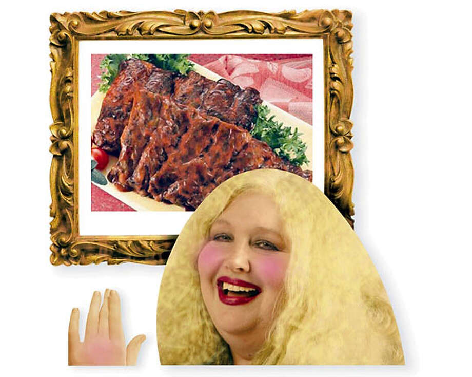 Begging for Big Nate's BBQ Brisket. Photo illustration by Gordon Studer, special to the Chronicle