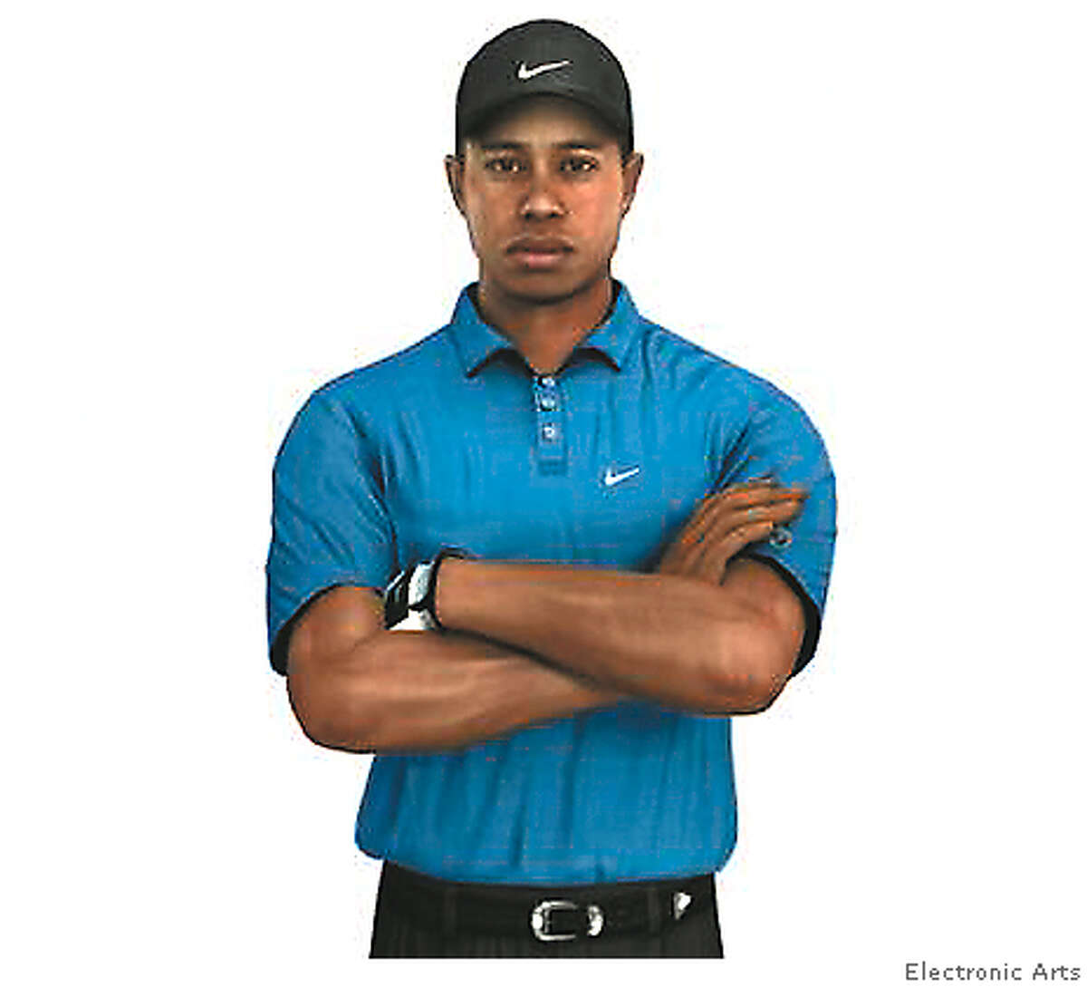 screen render from new tiger woods golf game for the xbox 360 showing sophisticated capturing technology