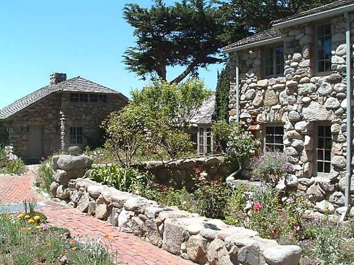 Poet Robinson Jeffers penned about 400 free-verse poems extolling the natural beauty of the Monterey County coast, all in an upstairs room in Tor House in Carmel, which he built almost entirely by himself. Photo courtesy of the Robinson Jeffers Tor House Foundation