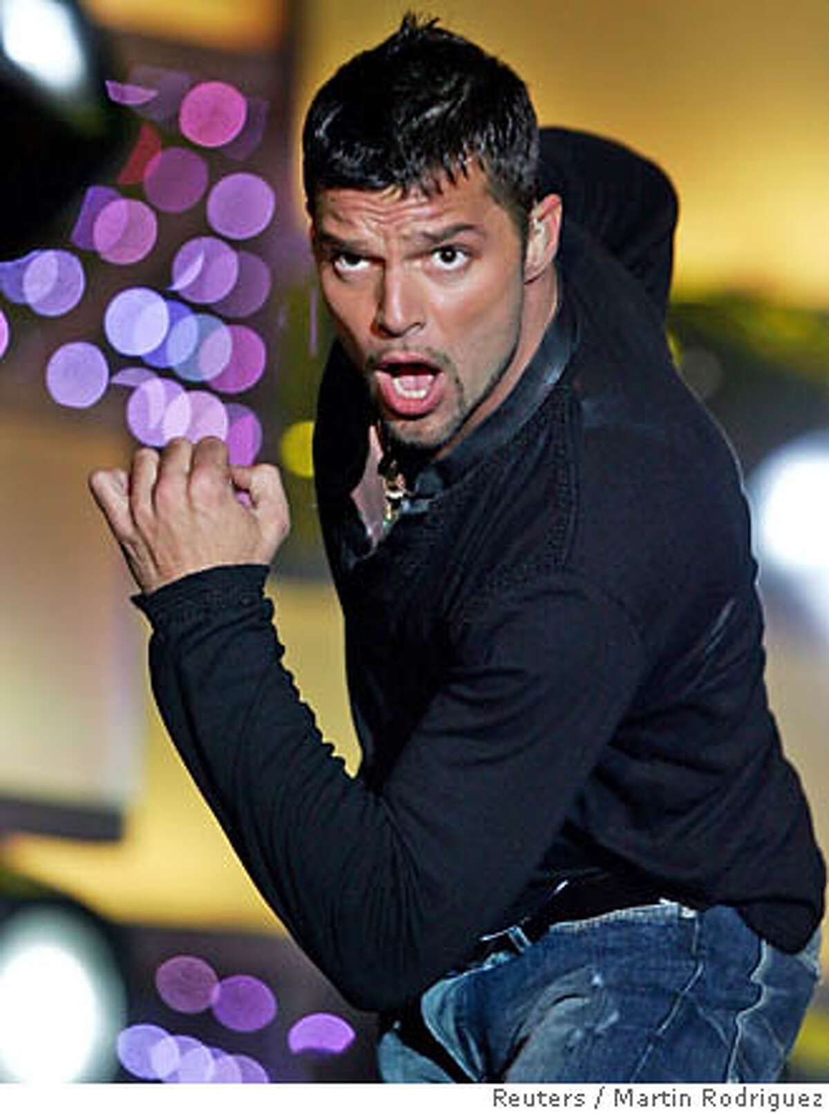 Singer Ricky Martin performs in Punta del Este City December 8, 2005. Martin is on his Latin American tour titled Una Noche con Ricky Martin (One Night with Ricky Martin). Photo taken on December 8, 2005. REUTERS/Martin Rodriguez Ran on: 12-30-2005 Isobel Campbell plays Cafe Du Nord on March 8. Tickets go on sale Sunday. 0
