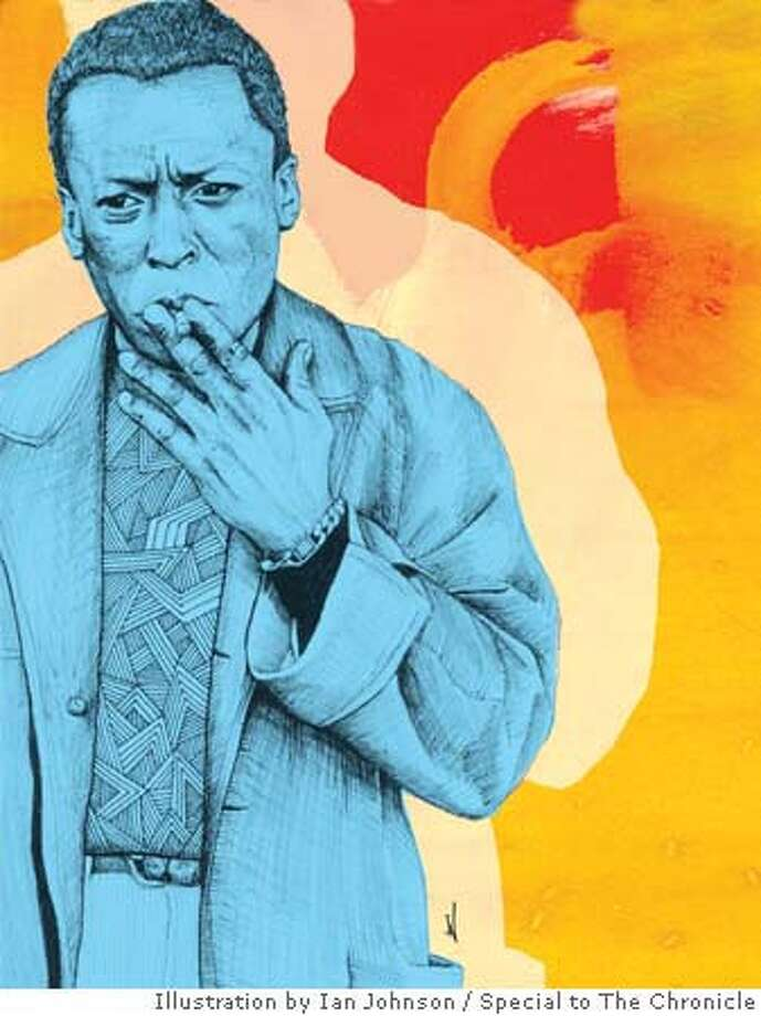 Miles Davis. Illustration by Ian Johnson, special to the Chronicle