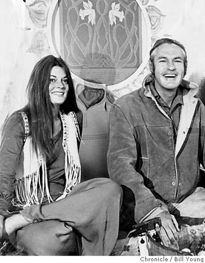 THIS IS A HANDOUT IMAGE. PLEASE VERIFY RIGHTS. WOODRUFF-B-23MAY69-MN-HO  TIMOTHY LEARY AND ROSEMARY, HIS WIFE.  PHOTO BY BILL YOUNG/THE CHRONICLE CAT Photo: HANDOUT