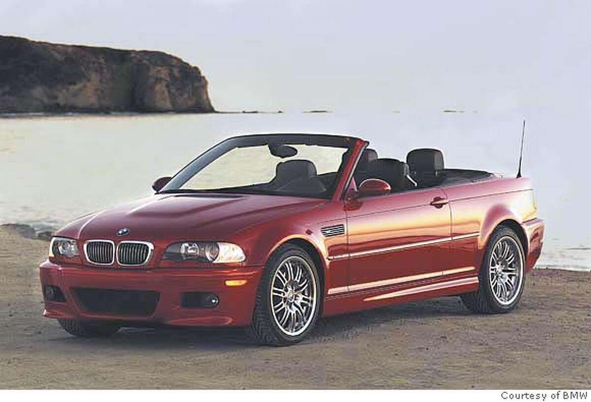 BMW M3 model, convertible Credit: Photo Courtesy BMW Ran on: 07-07-2006 Ran on: 07-07-2006 Ran on: 07-07-2006 Ran on: 07-07-2006