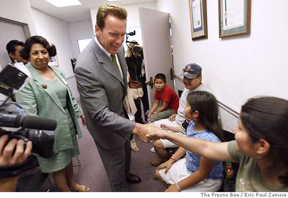 Arnold Schwarzenegger Photo: ERIC PAUL ZAMORA