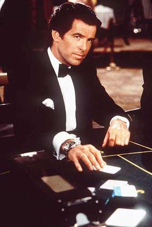 Pierce Brosnan in JAMES BOND FILM, `Golden Eye' -- a $26-million opening weekend ... ALSO RAN 2/20/97 , DD 02/04/1999, 2/25/99 ALSO RAN: 03/24/1999 Photo: HANDOUT